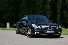 Mercedes-Benz E-Class Coupe Black