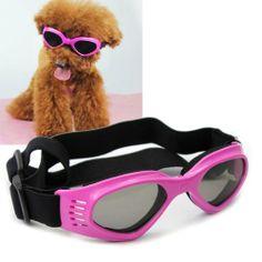 Namsan Stylish And Fun Pet/Dog Puppy UV Goggles Sunglasses Waterproof Protection Sun Glasses For Dog -Pink - http://www.thepuppy.org/namsan-stylish-and-fun-petdog-puppy-uv-goggles-sunglasses-waterproof-protection-sun-glasses-for-dog-pink/