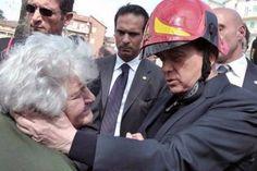 Berlusconi L'Aquila