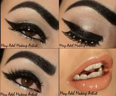 Be Glam  make up  as well Party at night