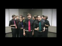 "A cappella cover of ""Greener,"" by Tally Hall"