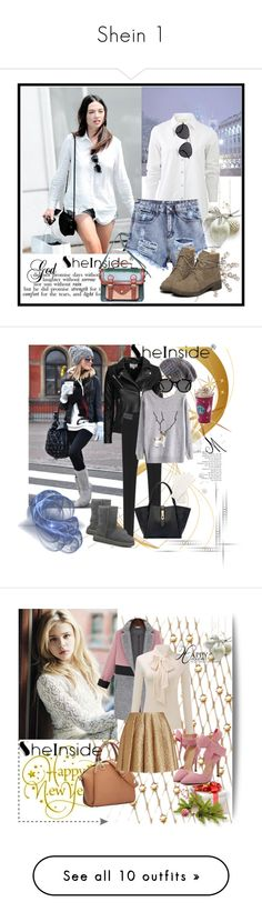 """""""Shein 1"""" by aida-1999 ❤ liked on Polyvore featuring rag & bone, Jennifer Behr, The Row, IRO, UGG Australia, Spacecraft, White House Black Market, Karen Walker, Chloé and Creatures Of The Wind"""