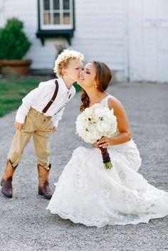 Ring Bearer & Flower Girl - Super Cute Wedding Guests ❤ See more: http://www.weddingforward.com/ring-bearer/ #weddings #photography