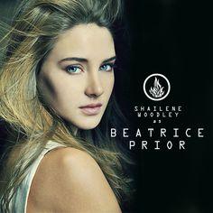 Shailene Woodley as Tris.
