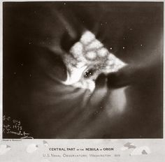 This photo of the Orion Nebula was taken in 1875. | 15 Historic Science Photos That Put Your Instagram To Shame