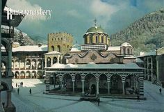 POSTCROSSING POSTCARD received January 2015 from Bulgaria.    Rila Monastery, Bulgaria Rila Monastery founded in the 10th century by St John of Rila, a hermit canonized by the Orthodox Church. A characteristic example of the Bulgarian Renaissance (18th–19th centuries), the monument symbolizes the awareness of a Slavic cultural identity following centuries of occupation.