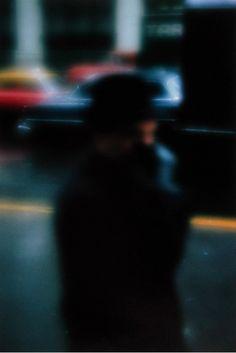 Saul Leiter - Street scene, New York [1958]
