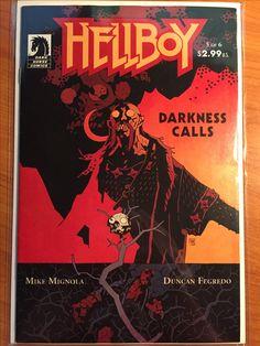 Hellboy Darkness Calls #5 -  August 2007 - Dark Horse