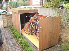 Ordinary Outdoor Bike Storage Locker Collect This Idea Outdoor Bike Garage