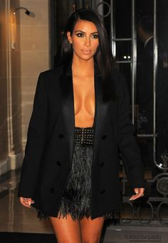 paris fashion show today pictures 2015 | Kim Kardashian – Lanvin SS 2015 Fashion Show in Paris
