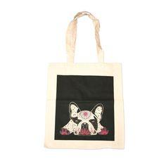 Bo - French Bulldog Bag  © 2014 Marlenes Gang – Illustration by Leila Talmadge