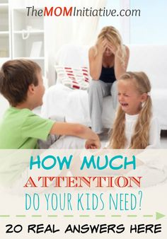 Want to AVOID having a CHILD-CENTERED HOME or an ATTENTION-STARVED CHILD? HERE's REAL HELP! How's a mom supposed to know how much attention to give her child when each one is different and there are no cookie cutter answers?