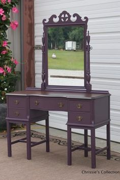 dark purple furniture - Google Search