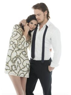 Caitriona Balfe and Sam Heughan ETCanada photo