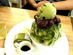 Green Tea Patbingsoo