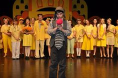 All-yellow Whos in Seussical Jr. from Jonathan Lynch via MTI Shows.