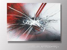 ASYLUM 1  Peinture moderne Tableau abstrait contemporain design & zen