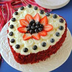 Red Velvet Cake for Valentine's Day. Super Easy, Rich, Moist, Absolutely Fantastic!