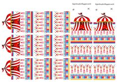 The Circus: Free Printable Original Nuggets or Gum Wrappers.