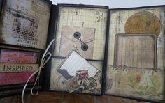 A Soul's Heartbeat: Prima Romance Novel Vertical Paper Bag Mini Album