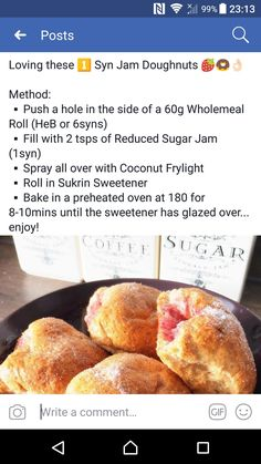 Create a free account Slimming World Desserts Puddings, Slimming World Sweets, Slimming World Tips, Slimming World Recipes Syn Free, Healthy Eating Tips, Healthy Recipes, Healthy Nutrition, Paleo Diet, Drink Recipes