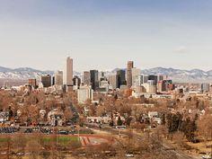 Love that Denver skyline