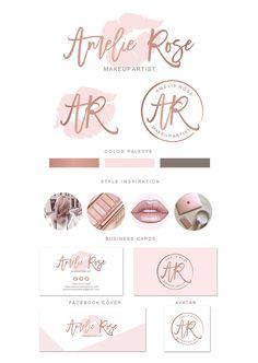 lips makeup artist logo design