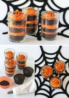 Mmmm! Cupcake in a jar!