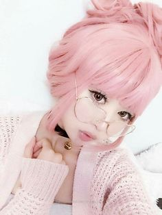 53 new Ideas hair pastel sweaters Pastel Fashion, Kawaii Fashion, Cute Fashion, Asian Fashion, Fashion Women, Style Fashion, Mode Kawaii, Kawaii Girl, Kawaii Hairstyles