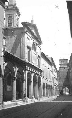 Bologna, Via San Vitale: chiesa dei Santi Vitale e Agricola in Arena Bologna