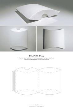 Pillow Box. Packaging & Dielines: The Designer's Book of Packaging Dielines.