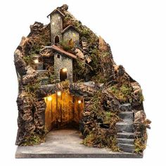 Christmas Nativity Scene, Christmas Villages, Christmas Diy, Xmas, Tree Decorations, Christmas Decorations, Holiday Decor, Christmas In Italy, Fairy Garden Furniture