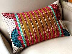 OOAK by SisterBATIK ~African fashion, Ankara, kitenge, Kente, African prints… Ethnic Home Decor, African Home Decor, African Interior Design, African Design, African Textiles, African Fabric, African Prints, Scatter Cushions, Throw Pillows