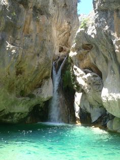 Rio Verde, a beautiful gorge in a wonderful protected area, Andalucía, Spain. http://www.costatropicalevents.com/en/costa-tropical-events/andalusia/natural-parks.html