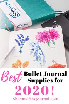 Starting a new bullet journal in Check out this ultimate guide to the Best bullet journal supplies on the market now! Affordable supplies for the best bullet journal ever! Best Bullet Journal Pens, Creating A Bullet Journal, Bullet Journal For Beginners, Bullet Journal How To Start A, Bullet Journal Notebook, Bullet Journal Layout, Bullet Journal Inspiration, Bullet Journals, Journal Ideas