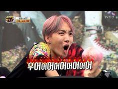 겁쟁이 제이홉! 몸개그 작렬! [아이돌잔치] 11회 20170307 - YouTube