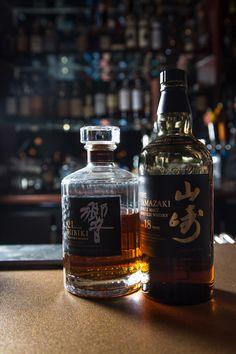 18 year Yamazaki Single Malt Japanese Whisky & 21 Year Hibiki Whisky