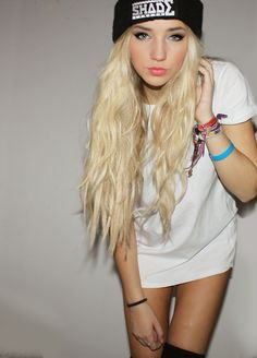 Want my long hair back!! (correct me if Im wrong, Eminem's daughter?)