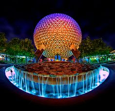 Spaceship Earth, Epcot Center, Disney Parks, Park Icon, Walt Disney, Disney Photography, Walt Disney World, Orlando Florida, Disney, Love, Design, Inspiration, ideas, Studio2719.com