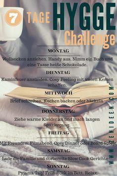 7 Tage Hygge Challenge um Glück im Leben zu bringen