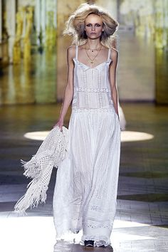 Roberto Cavalli Spring 2008 Ready-to-Wear Fashion Show - Natasha Poly