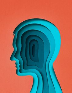 Clever illustrations by Eiko Ojala which resemble three dimensional papercuts.