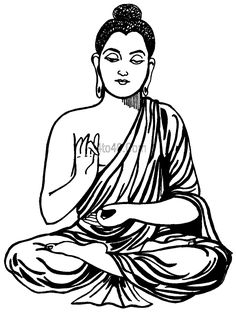 Buddha Face Coloring Pages   Lord Buddha Coloring Book Top 20 Pages