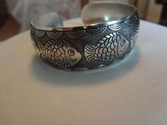 Shipping Included. No Fee. Beautiful Antiqued Tibetan Silver Cuff Bracelet $6.00 ( I )