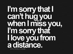 #love you from a distance...