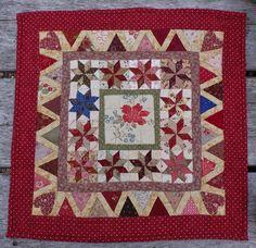 Patroon en lapje randstof voor een zomerse Tilly   Pakketten van Bep en overige   Atelier Bep ontwerp van Jeanneke