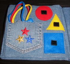 Baby's Busy Book From Recycled Denim – Sewing Projects | BurdaStyle.com