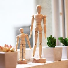 Wooden Human Mannequin #artistic, #man, #wooden