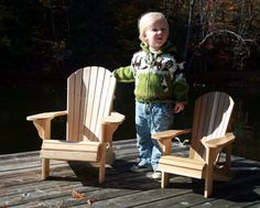 Junior Size Adirondack Chair Plans