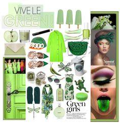 Green fashion trend